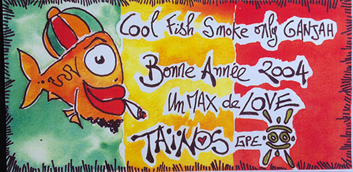 BONNE ANNEE TAINOS GUADELOUPE 2004