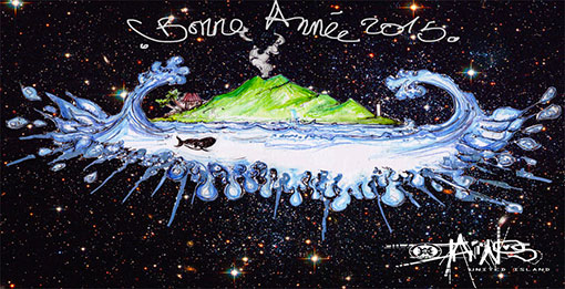 BONNE ANNEE TAINOS GUADELOUPE 2015