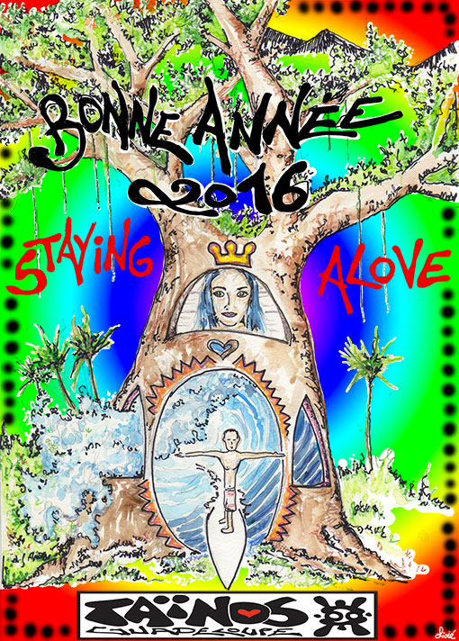 BONNE ANNEE TAINOS GUADELOUPE 2016