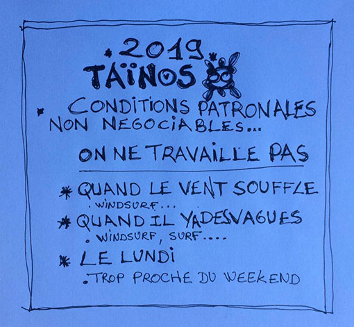 CONDITIONS SOCIALES TAINOS GUADELOUPE