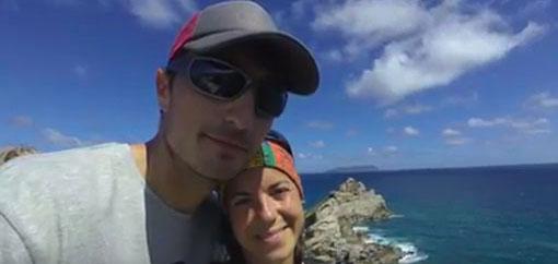 LOIC BEHIN CARO AILLAU OPEN OCEAN TAINOS GUADELOUPE FAMILI TEAM OC1 ZE RACE