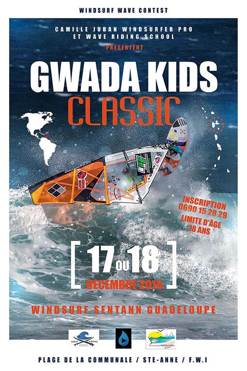 Gwada Kids Classic camille Juban Tainos Guadeloupe Windsurf