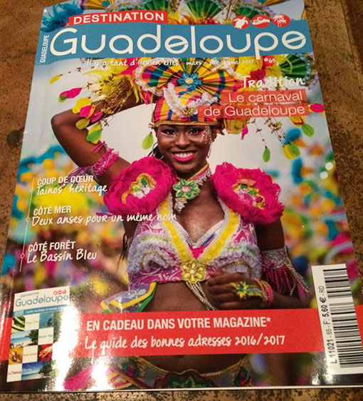 TAINOS GUADELOUPE PRESS DESTINATION GUADELOUPE