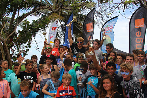 REMI RAULT TAINOS GUADELOUPE WINDSURF TEAM