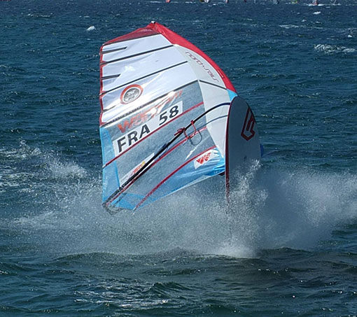 REMI RAULT TAINOS GUADELOUPE WINDSURF TEAM WINDY SAILS