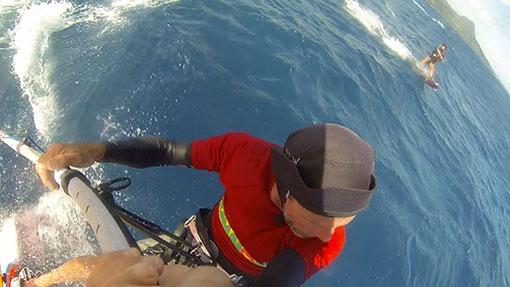 Camille Combe Kitesurf Tainos guadeloupe windsurf speedcrossing les saintes