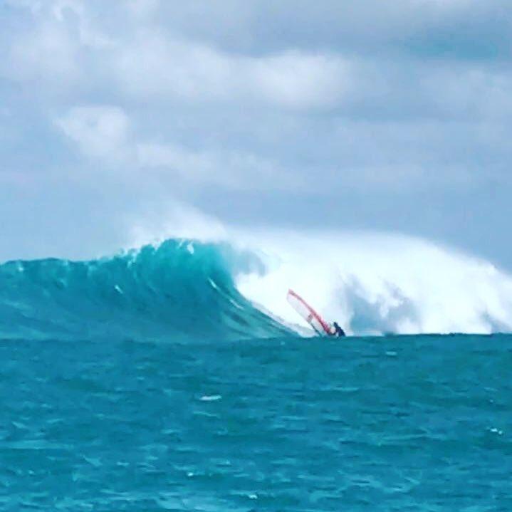 Taïnos guadeloupe famili Olivié Lafleur windsurf
